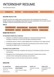 Resume Template Student College College Student Resume Sample Writing Tips Resume Genius