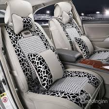 gray leopard print seat covers