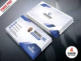 Free Design Business Cards Creative Business Card Designs Free Psd Free Business Card