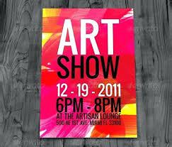 Art Event Flyer Art Event Flyer Free Premium Vector Downloads Samples Show