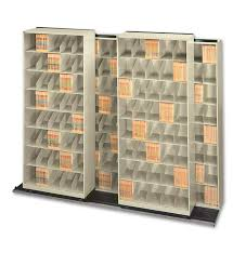 Movable Shelving File Systems High Density Chart Pro Systems