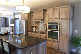 Alabaster White Kitchen Cabinets Alabaster White Semi Opaque Paint With A Black Glaze Love The