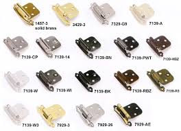 Amerock Variable Overlay Cabinet Hinges