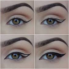 how how to put on liquid eyeliner liked on polyvore featuring beauty s makeup