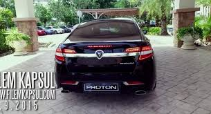 new car 2016 malaysiaSPOTTED New 2016 Proton Perdana Seen In Filem Kapsul Promo Video