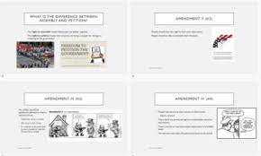 bill of rights ppt the bill of rights ppt summary for use in history or american