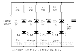 led voltmeter circuit