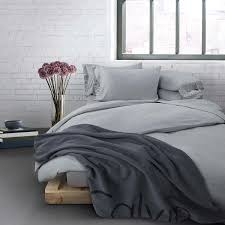 calvin klein modern cotton bedding grey at dotmaison com