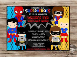 superheroes birthday party invitations superhero invite superhero invite boys girls superhero invitation