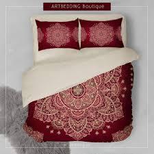 bedding set bohemian bedding stunning bohemian bedding king indian duvet doona cover comforter mandala hippie