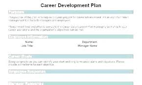 sample career plan individual development plan examples template example sample