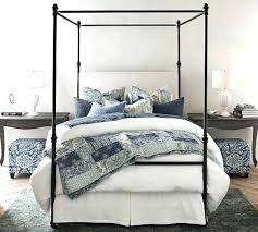 Pottery Barn Farmhouse Canopy Bed Reviews Frame Mattress For Sale In ...