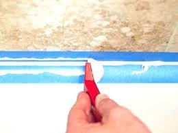 to best bathtub caulk caulking tape does work bathroom tools