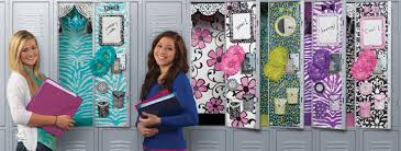 create her special locker look the company advocates creativityâ and with all the selections my daughter and i were able to create the perfect look