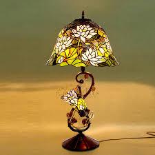 tiffany stained glass lamp. Tiffany Stained Glass Lamp