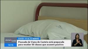 Pousada da Juventude de Viana do Castelo pronta para receber idosos infetados