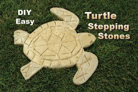 Diy Stepping Stones How To Make Turtle Stepping Stones Easy Diy Youtube