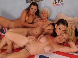 Old on young orgy