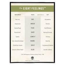 The Eight Feelings Chart