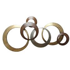 fashionable inspiration circle metal wall art interior designing home ideas amazon com stratton decor spc 999 on circles metal wall art decor with valuable idea circle metal wall art modern home circles excellent