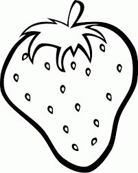 New Strawberry Coloring Page 84 With Additional Free Colouring