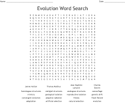 Student exploration natural selection answer key is not the form you're looking for?search for another form here. Evolution Word Search Wordmint