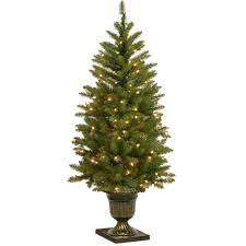 national tree company 4 ft dunhill fir entrance artificial christmas with clear lights national tree company dunhill fir97