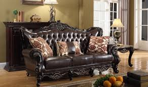 Traditional Living Room Sets 675 Barcelona Traditional Living Room Set In Rich Cherry By