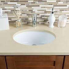 undermount bathroom sink. Hahn Ceramic White Medium Oval Bowl Undermount Bathroom Sink R