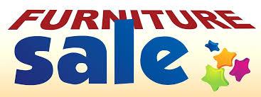 furniture sale banner. Furniture Sale Large Color Banner Sign White Blue Orange  Click Image To Close . P