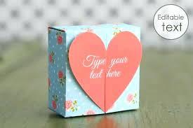 Editable Foldable Templates Sample Rectangle Box Template Foldable Gift Printable Reflexapp