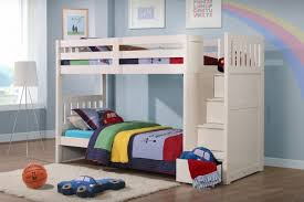 neutron childrens bunk bed with stair storage stairc