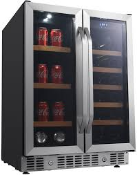 beverage cooler with french doors