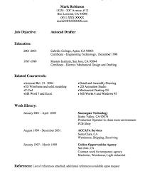 Sample Autocad Drafter Resume Drafting Resume Samples Major Magdalene Project Org