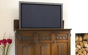 hidden television furniture. flat screen tv wood brosu0027s wooden riseandfall cabinet in the old hidden television furniture t