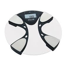 Home Bathroom Scales Escali Digital Glass Body Fat And Water Bathroom Scale Bfbw200