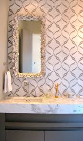 Seashell Encrusted Mirror (by Antiques on Holiday). 2012 Coastal Living  Show House via