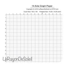 to scale graph paper printable graph paper 14 scale graph paper 14 count cross stitch