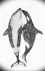 эскиз для тату касатка 31052019 064 Sketch Tattoo Killer Whale