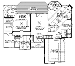 greek revival house plan first floor 013d 0037 house planore