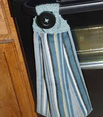 Kitchen Towel Craft Craftdrawer Crafts How To Crochet A Kitchen Dish Towel Topper
