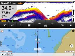 Navigation Charts For Iphone Sonar Fish Finder Depth Finder With I Boating App