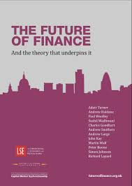 finance cover free book future of finance and the theory that underpins it lse