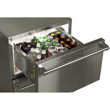 refrigerator drawers. 24\u2033 outdoor refrigerated drawers with lock mo24rds3ns refrigerator