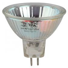 <b>Лампа галогенная ЭРА</b> Gu5.3-jcdr (mr16) -50w-230v-cl» — Лампочки