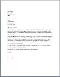 Awesome Collection Of Sample Request Letter For School Admission