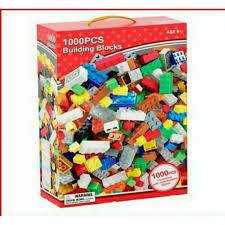 Bộ lego lắp ráp1000 chi tiết - Đồ chơi lắp ghép phát triển trẻ toàn diện - Bộ  xếp hình 1000 chi tiết cho bé