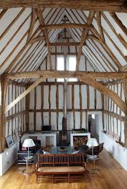 remodeled 16th century barn in es england by architect david pocknell