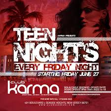 Teen night clubs nj
