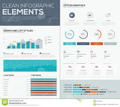 Graphs And Pie Charts For Infographic Vector Data